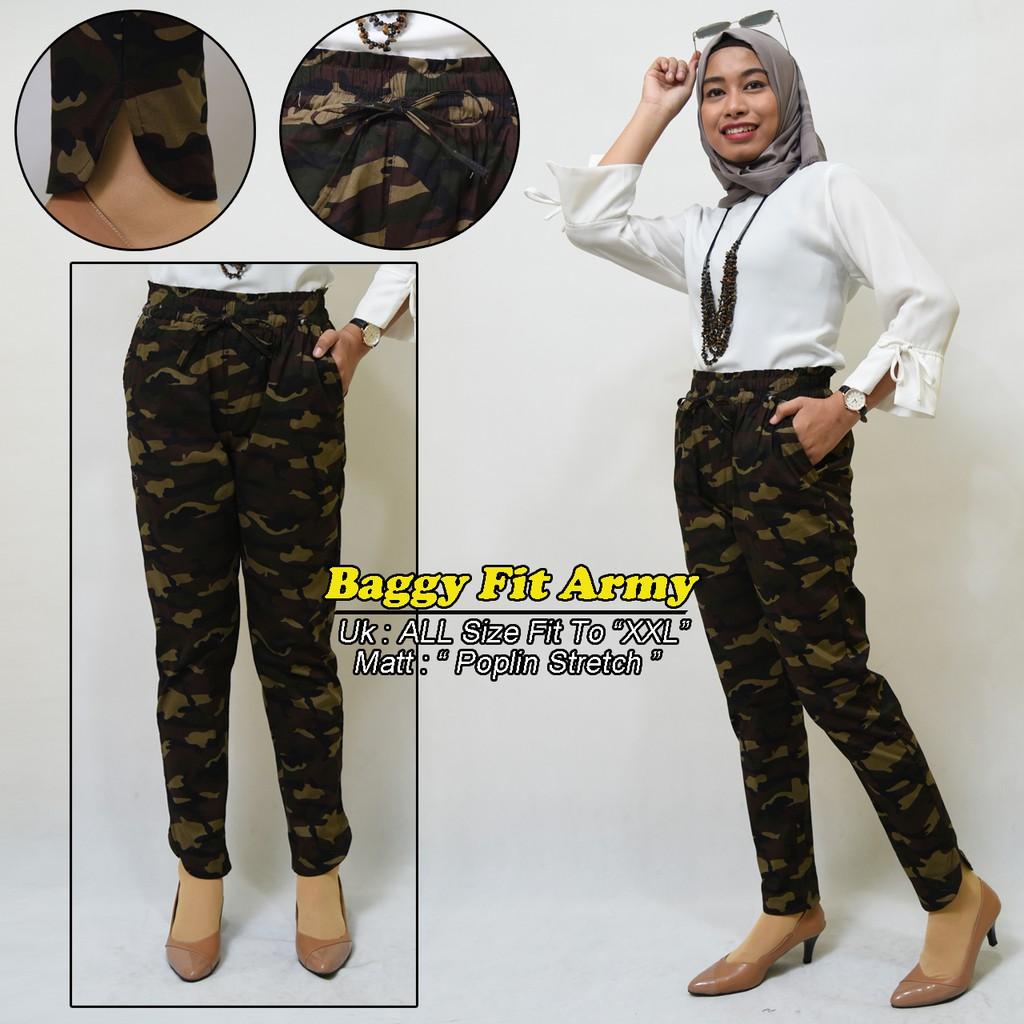 Celana Baggy Pants Original Size S M L Xl Xxl Shopee Indonesia Los Standar Polos Allsize Fit To Dan