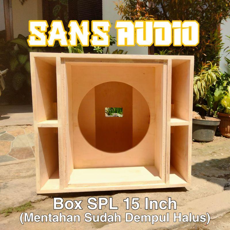 Box speaker spl 15 inch