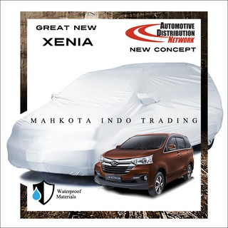 Custom Body Cover Mobil Great New Xenia 2016 / Sarung Mobil Great New Xenia 2016