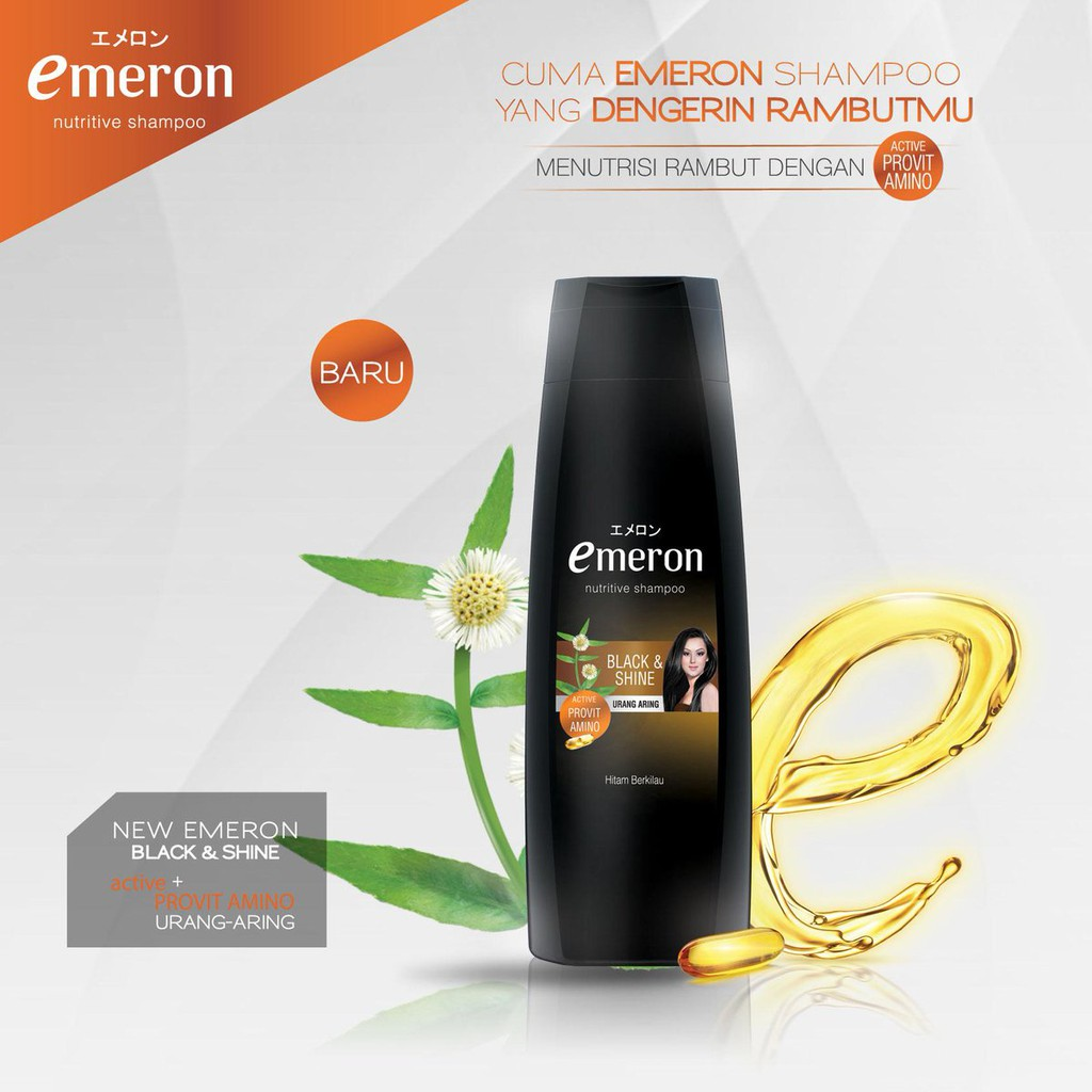 Emeron Nutritive Conditioner Black Shine Urang Aring Har02378 Twin Pack Sunsilk Shp Blk Sd 170ml Shopee Indonesia