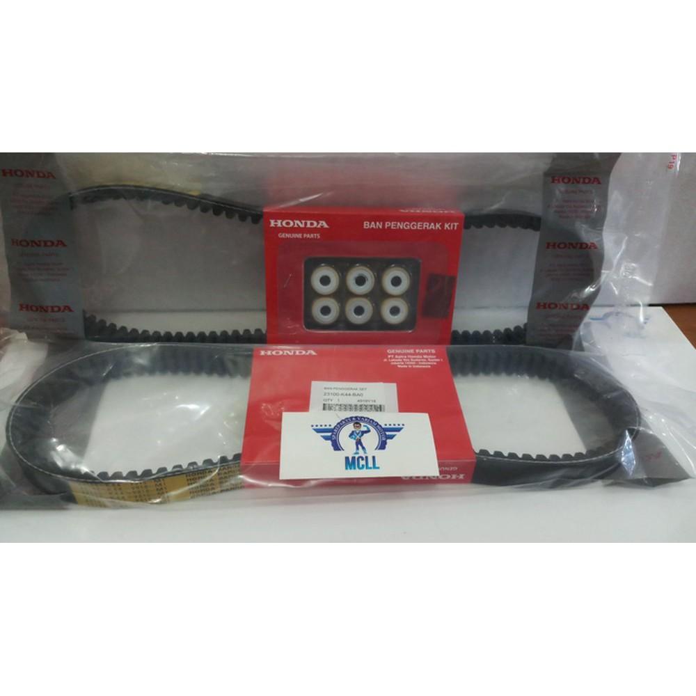 Ori AHM 23100-K44-BA0 Van Belt Plus Roller Beat Fi Esp Street Beat Pop | Shopee Indonesia