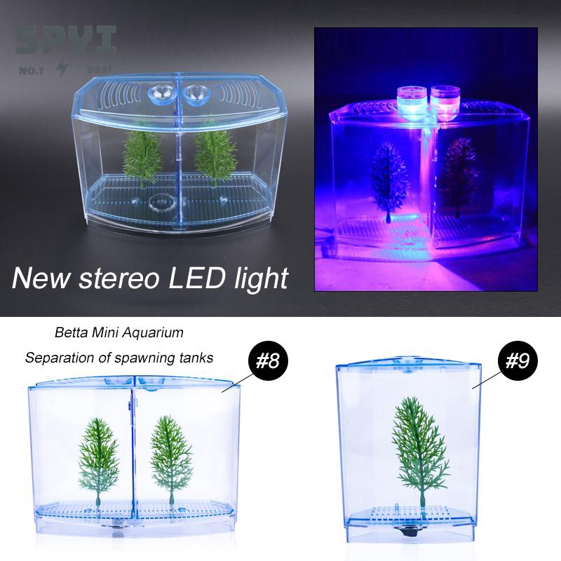 Betta Fish Tank Environmental Partition Diy Aquarium Odorless Spawning Box Shrimp Shopee Indonesia