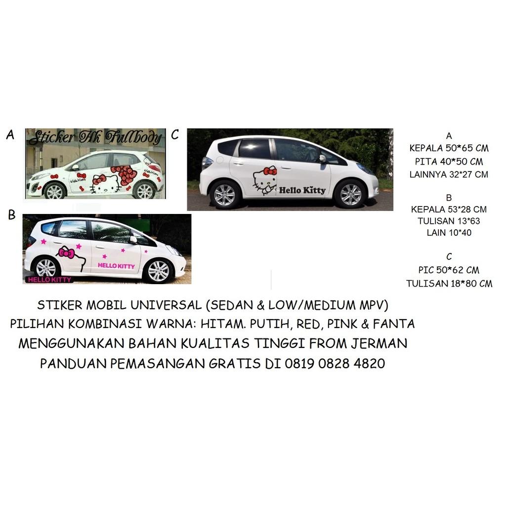 4pcs Stiker Handle Mobil Universal Pelindung Handle Screen guard handle mobil SC-01 | Shopee Indonesia