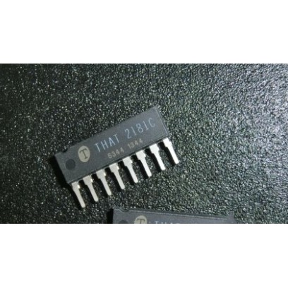 10pcs new original  THAT2181C THAT 2181C THAT2181CL08-U  SIP-8 Chip amplifier kontrol tegangan