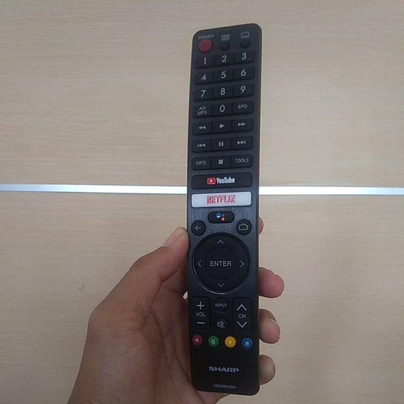 remote tv android Sharp original