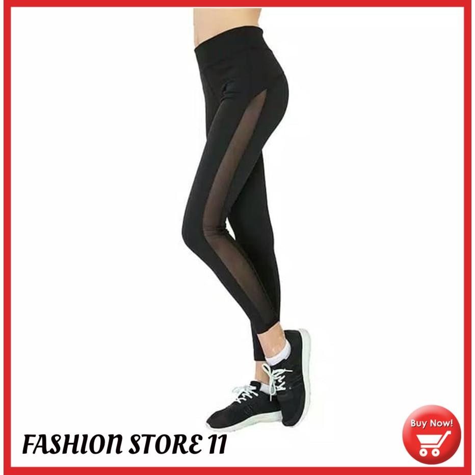 Celana Olahraga Senam Gym Fitness Yoga Zumba Wanita Training Sport Wanita Legging Sport Wanita Fs149 Shopee Indonesia