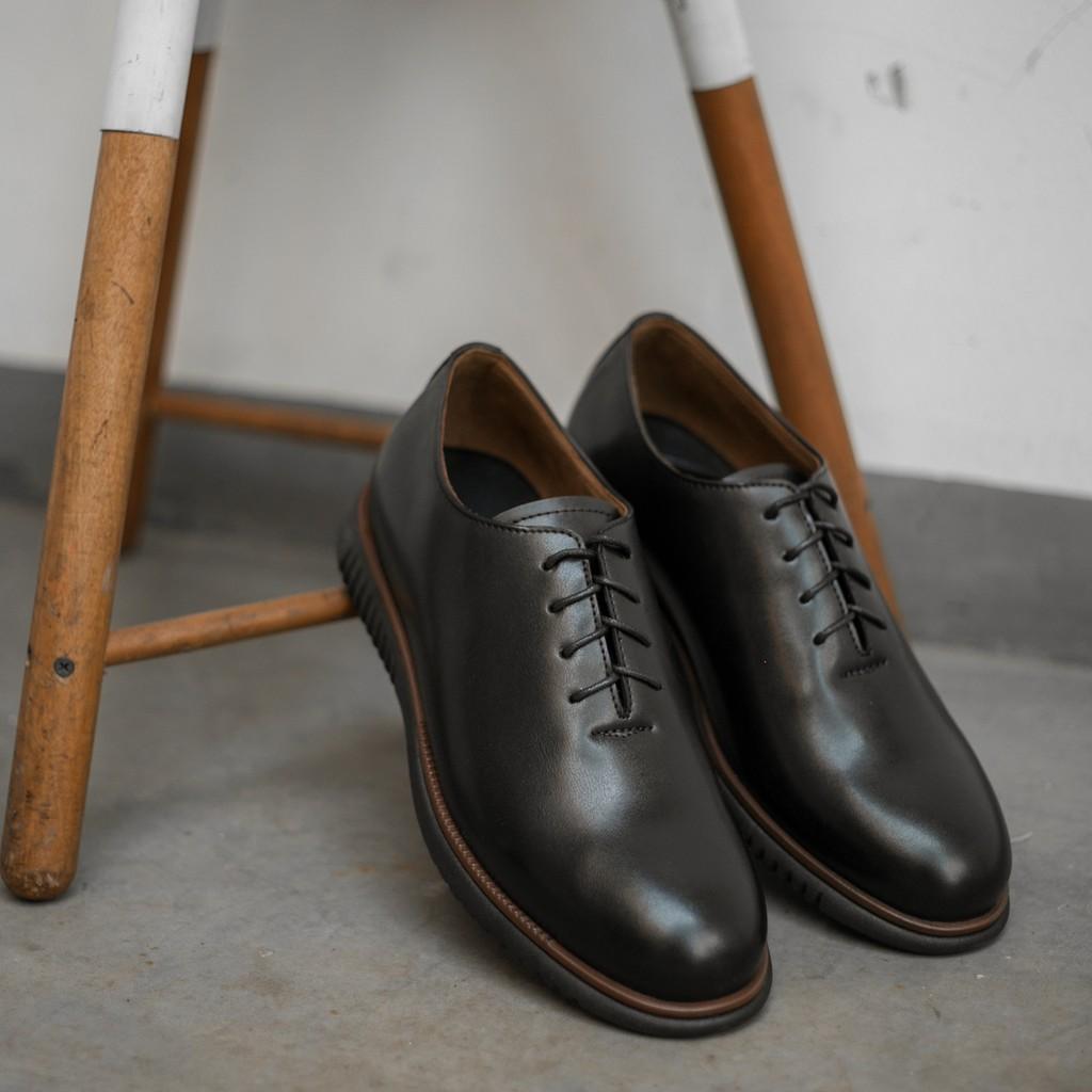 Hot Stuff Sepatu Pria Formal Paul Black Shoes Shopee Indonesia Dr Kevin Men 13199 Brown Cokelat Tua 41