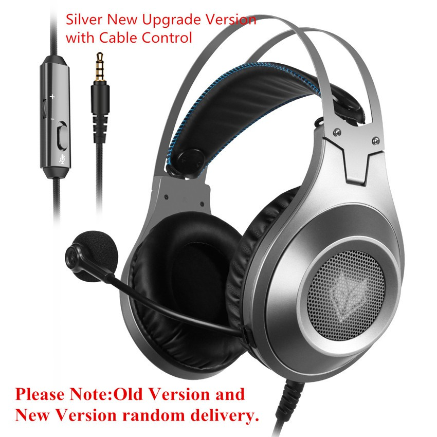 NUBWO N2 3.5MM Stereo Surround Gaming Headphone Headset MIC for PS4 Xbox One PC