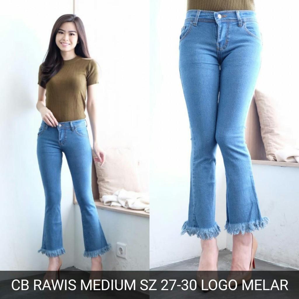 94+  Celana Jeans Cutbray Rawis Terlihat Keren Gratis