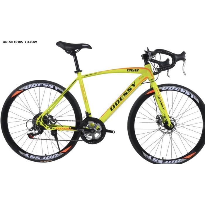 Galery Sport Sepeda Balap Roadbike Murah 700c Odessy 1010 Shopee Indonesia