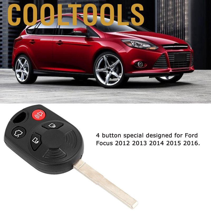 Shell Case For 2012 2013 2014 2015 2016 Ford Focus Keyless Remote Car Key Fob