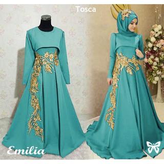 Baju Wanita QWR Baju Korea Baju Murah Emilia Dress Bordir Baju Cewek Kekinian SO | Shopee Indonesia