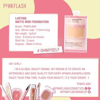 Pinkflash Ohmyself Foundation Matte Tahan Lama Untuk Semua Hari 8