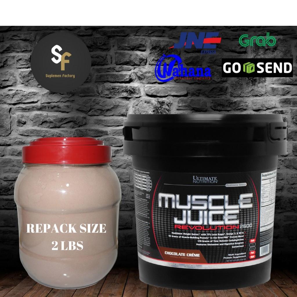 Suplemen Fitnes Ultimate Muscle Juice Revolution Susu Gainer Ecer Ph Prohybrid Mass 2 Lbs Bpom Halal Penambah Bb Eceran Murah Di Surabaya 1lbs Shopee Indonesia