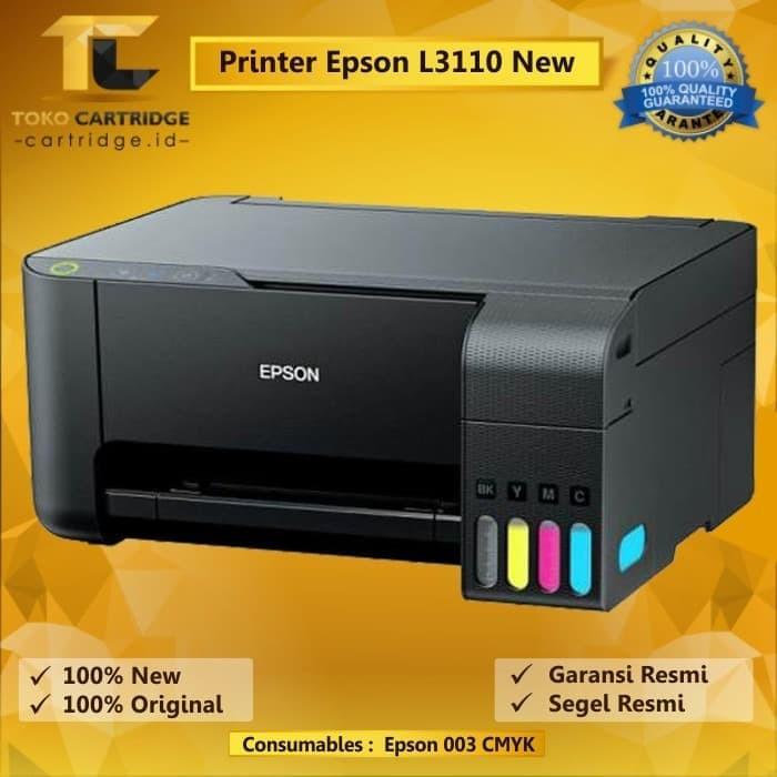 Printer Epson L3110 L 3110 EcoTank Print Scan Copy Pengganti L360 New