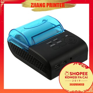 【3C】zjiang - 5805 Printer Thermal Bluetooth Android 4.0 58mm