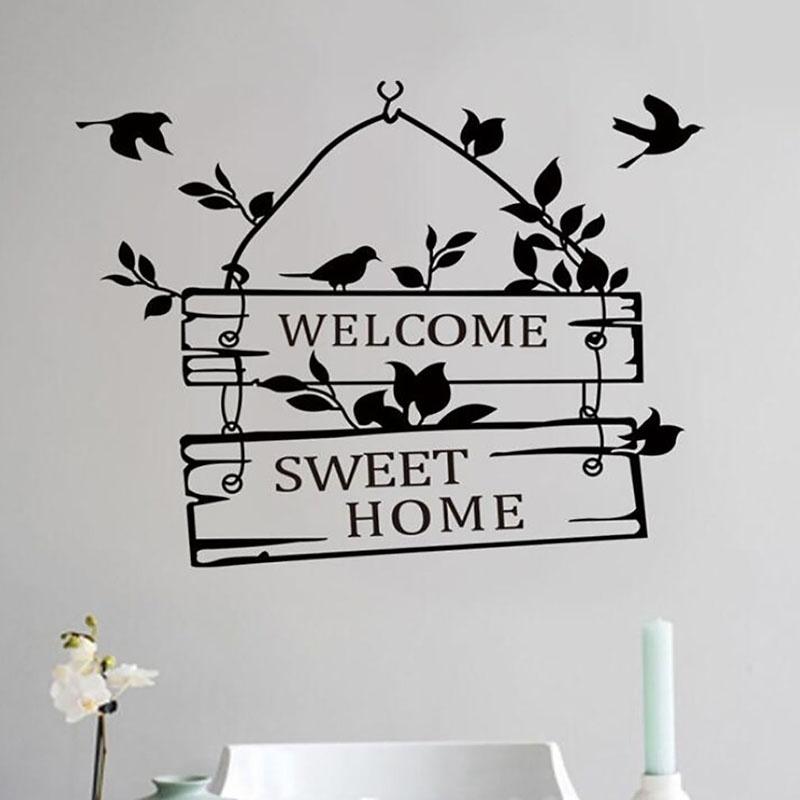 Home Door Decoration Wall Sticker Bedroom Living Room Animal Sticker Shopee Indonesia