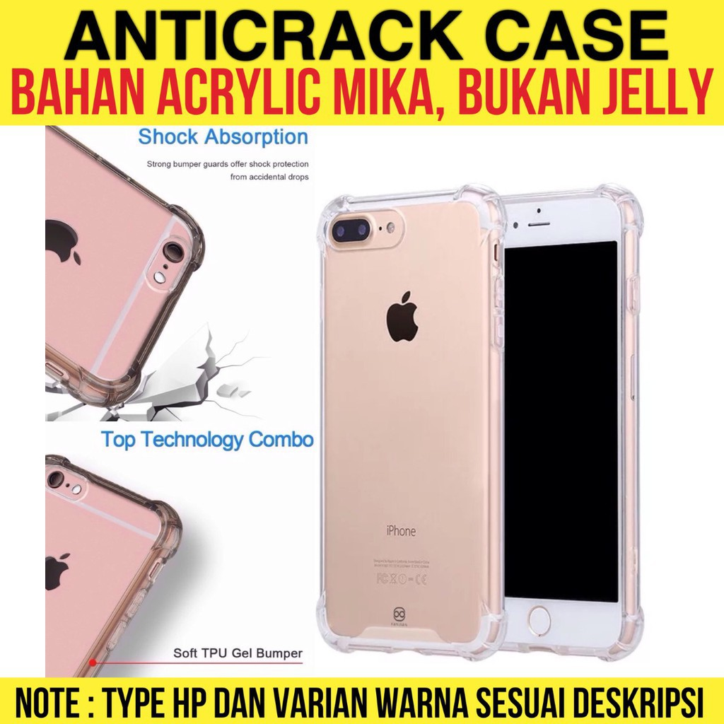 Y∮ Anti Crack / Anticrack Mika Acrylic Fuze / Anti Shock All Type | Shopee Indonesia