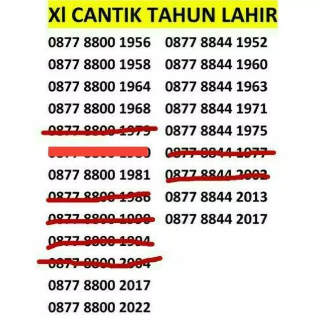 nomer cantik xl - Temukan Harga dan Penawaran Kartu Perdana Online Terbaik - Handphone & Aksesoris November 2018 | Shopee Indonesia
