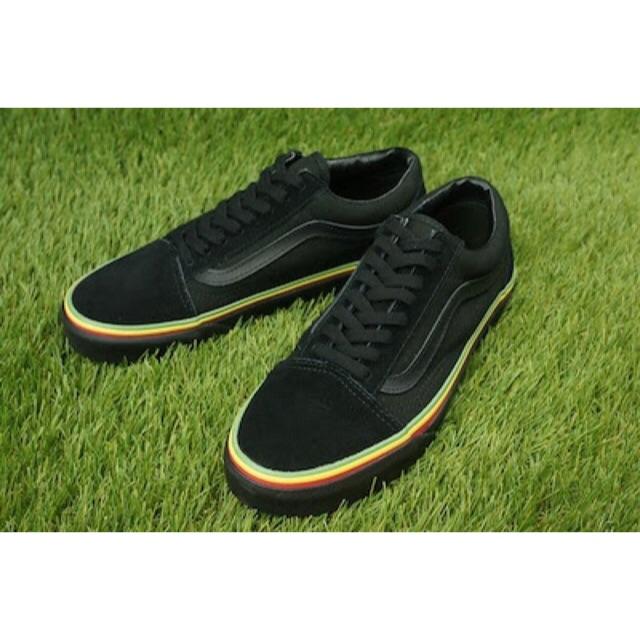 Vans Old Skool X Patta Sneakers Sepatu Jalan Pria PREMIUM  d286bf600b