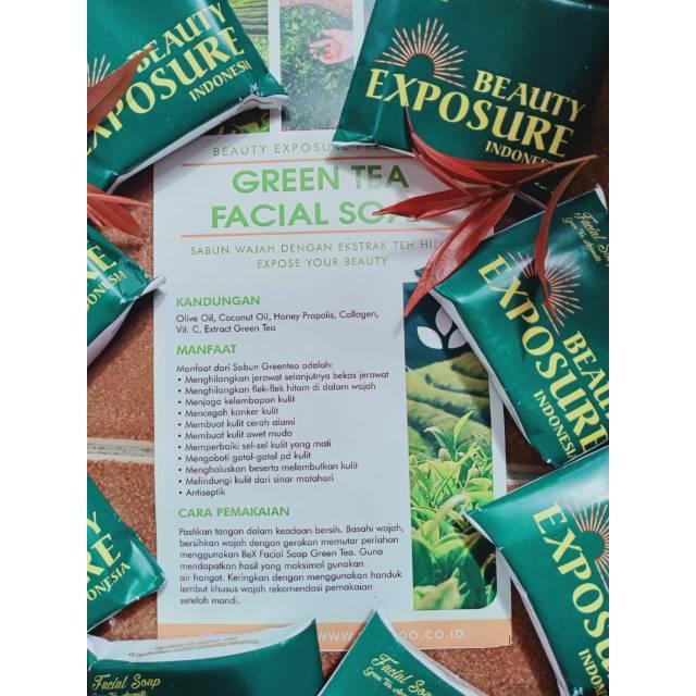 Bexindo Sabun Bexindo Sabun Beauty Exposure Sabun Green Tea Sabun Teh Hijau Bexindo Shopee Indonesia