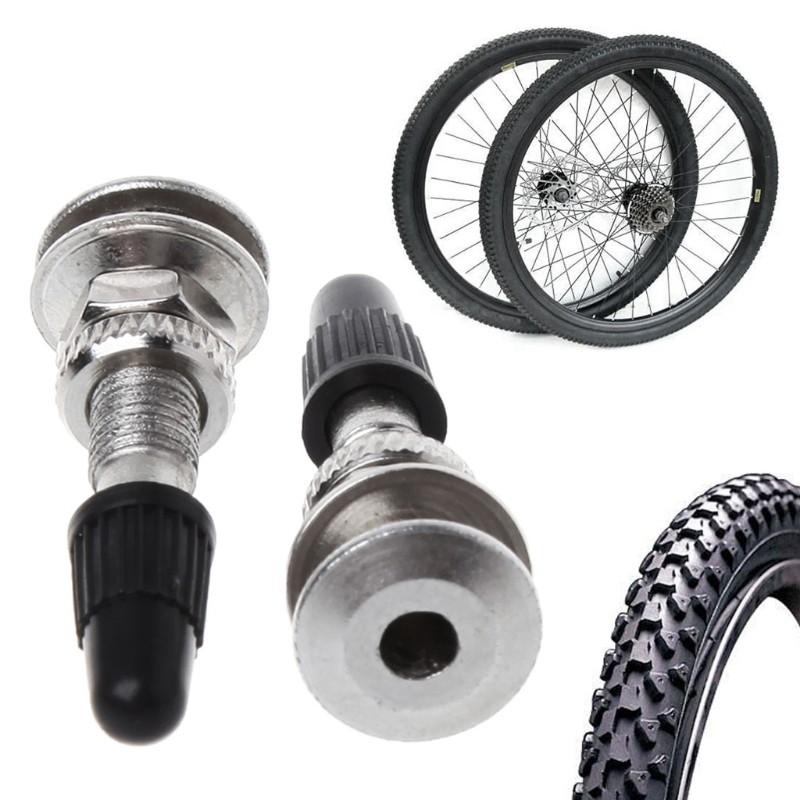 2 pcs 31mm Bicycle Schrader Valve Ultralight Zinc Alloy MTB Mountain Road Bike