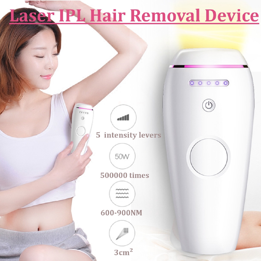 500 000 Pulses Ipl Permanent Hair Laser Removal For Body And Face
