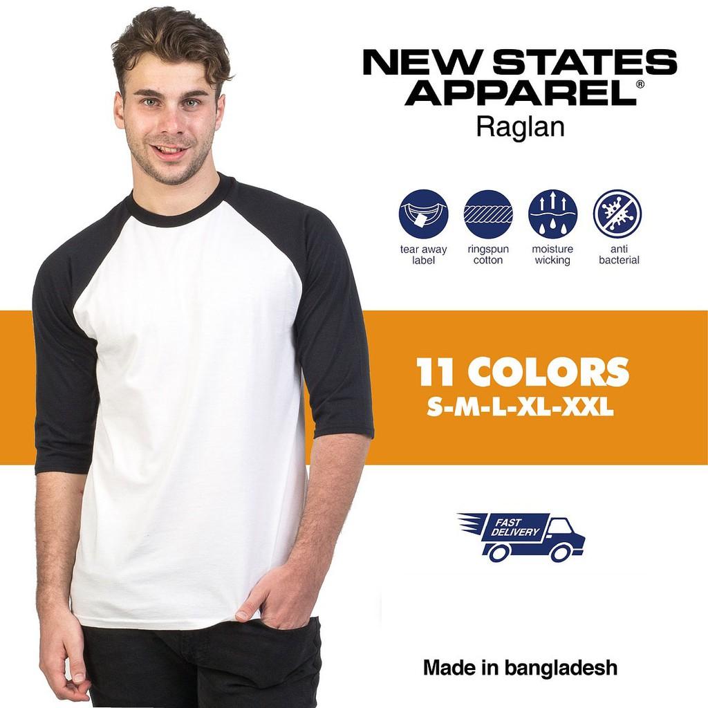 Shopee Indonesia Jual Beli Di Ponsel Dan Online Kaos Polos Nsa New States Apparel 7260 Raglan Premium Original  Smlxl