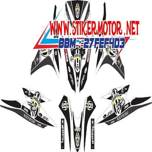Modif Striping Motor Vario Techno Fi 125 Juventus Shopee Indonesia