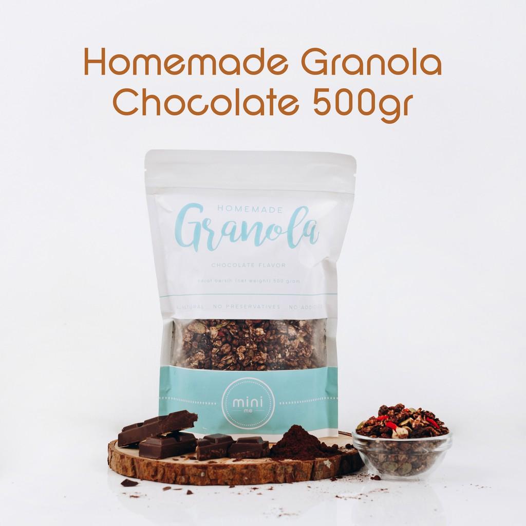 Minime Paket Granola 100gr Isi 5pcs Shopee Indonesia Chiayo Homemade Original 250gr