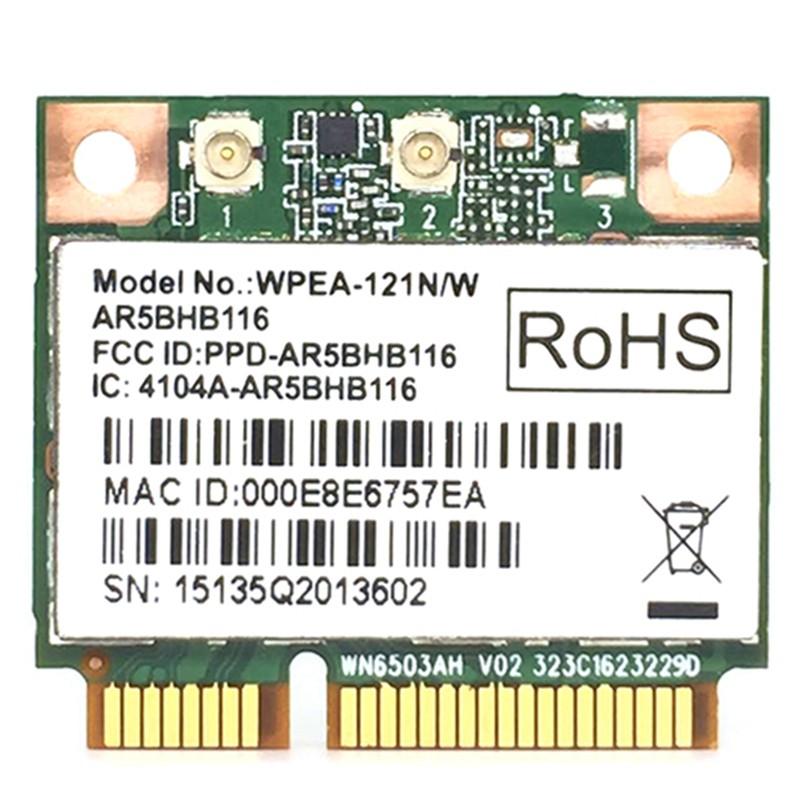 2.4//5GHz AR9832 AR5BHB116 MINI PCI-E Wireless Card WIFI WLAN Inner Network Card