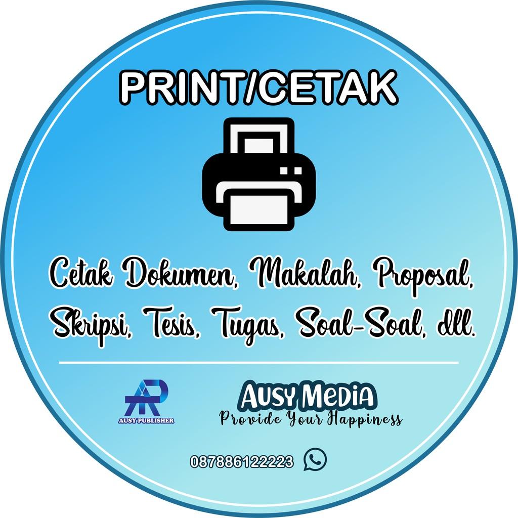 Jasa Cetak Print Dokumen Makalah Proposal Skripsi Tesis Soal Soal Murah Shopee Indonesia