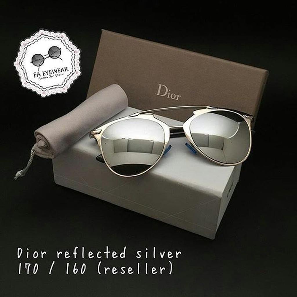 Dior So Real Silver Kacamata Sunglass Wanita Pria Fashion Murah Trendy  b43aa8904d