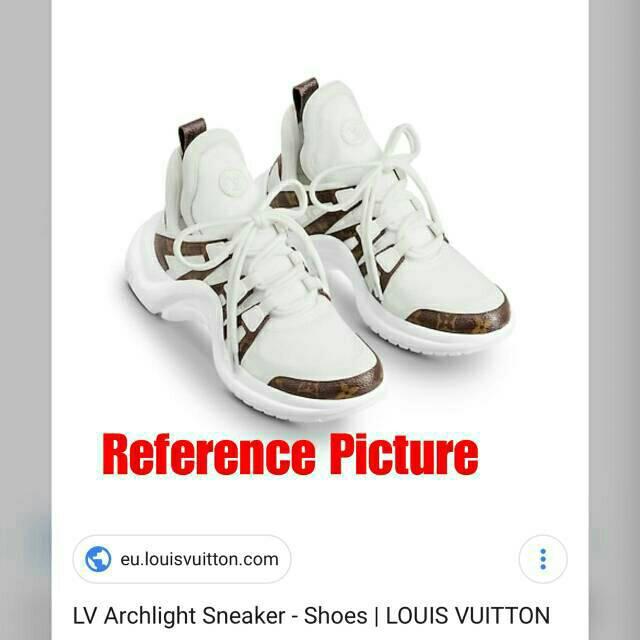 a55bf5a451b5 Lv archlight sneaker monogram