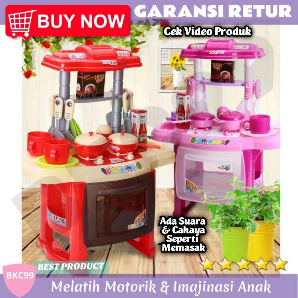 B88 Mainan Edukasi Anak Perempuan Masak Masakan Kompor Komporan Dapur Mini Kitchen Play Set Murah Shopee Indonesia
