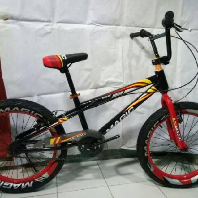 Free Ongkir Pulau Jawa Sepeda Bmx 8125 20inch Ban Besar 3 0 Shopee Indonesia