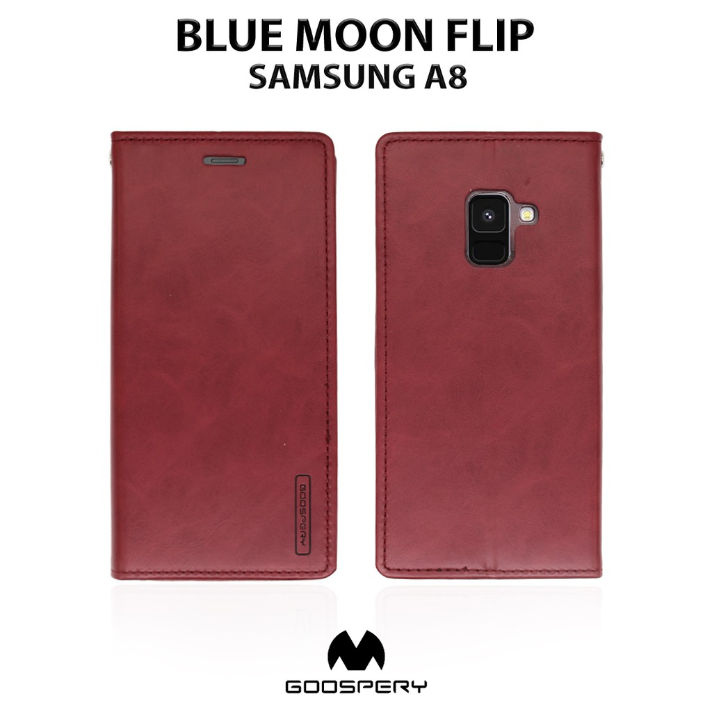ASUS Zenfone 2 5,5 ZE551ML - MERCURY Goospery Blue Moon Flip Soft Case |