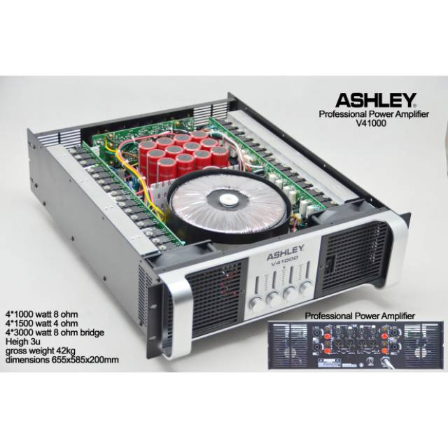 Power Amplifier Ashley V41000