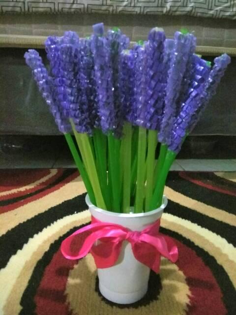 Bunga Sedotan Lavender Shopee Indonesia