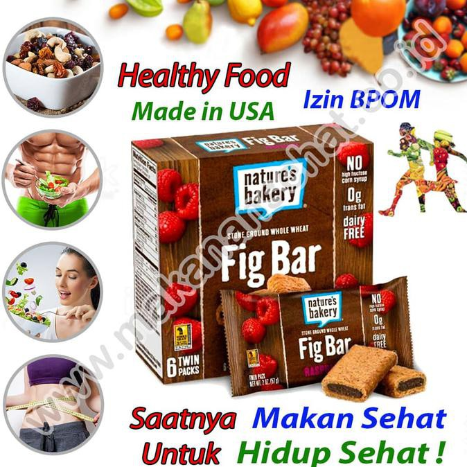 New Fig Bar Raspberry Usa Makanan Sehat Cemilan Sehat Diet
