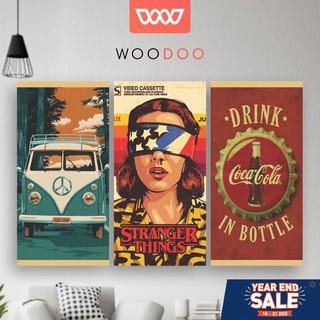 woodoo - wall decor hiasan dinding pajangan rumah vintage
