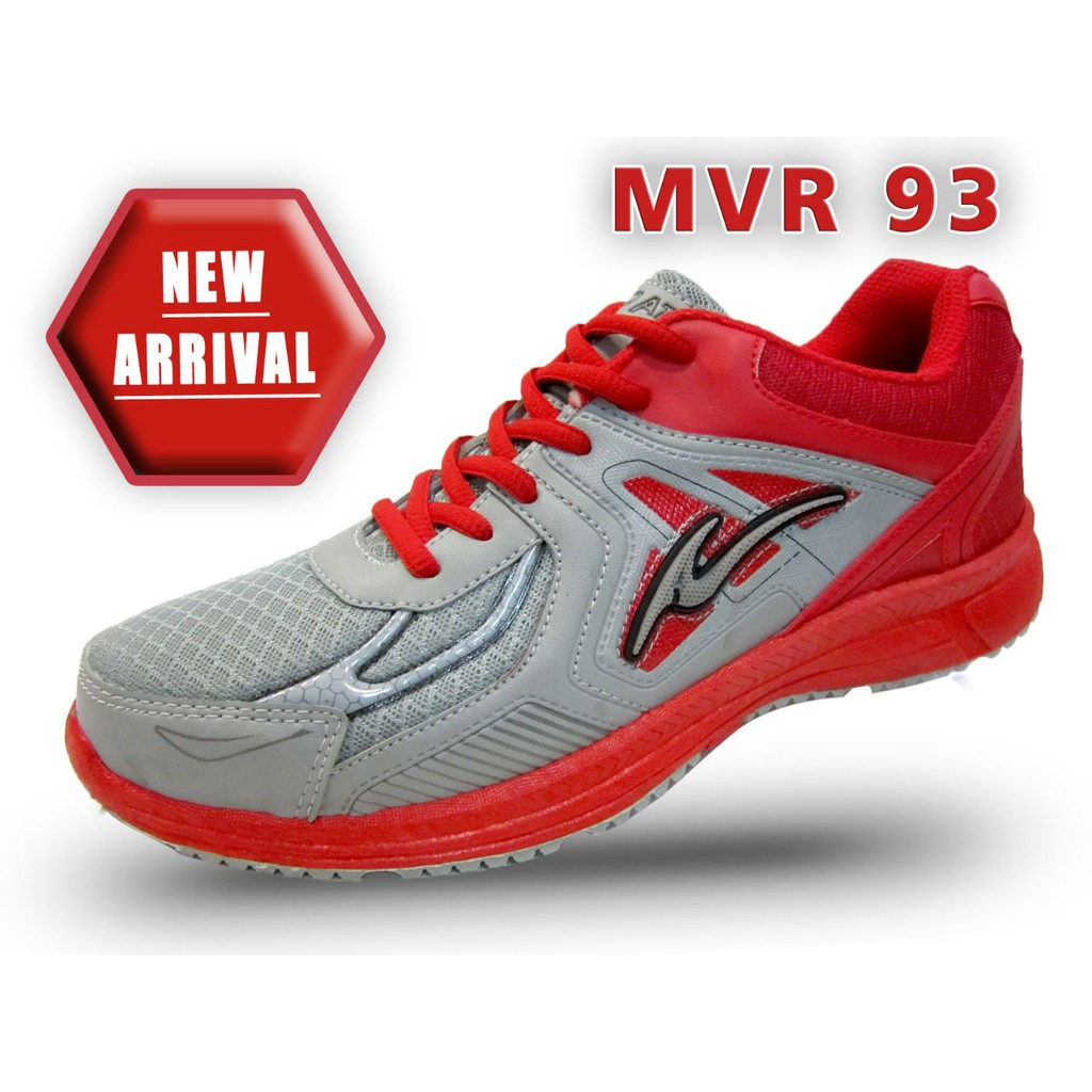 Sepatu Trekkers Velocity Sepatu Olahraga Warna Hitam Merah  e246d432ca