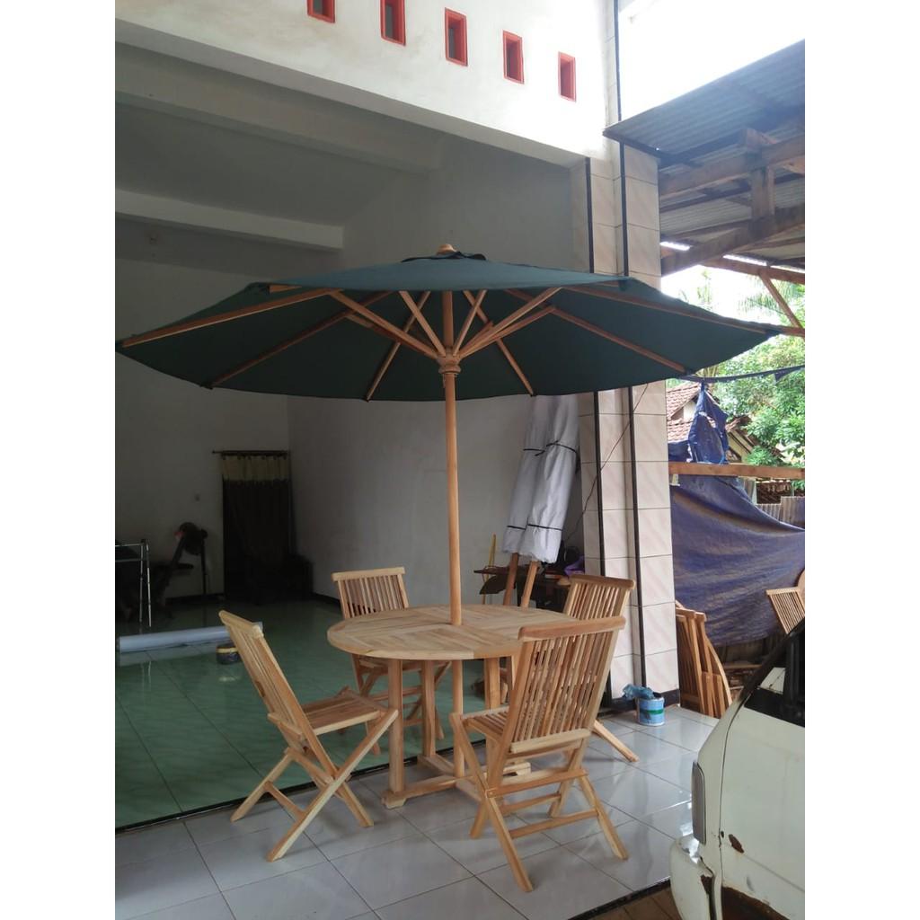 Ready Stock Meja Kursi Payung Taman Tenda Cafe Dan Tenda Taman Shopee Indonesia