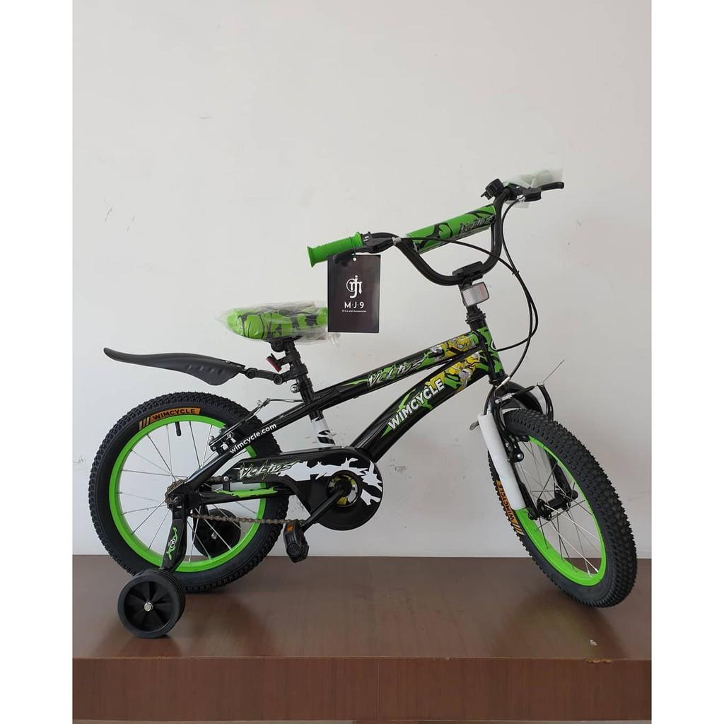 Sepeda Anak Bmx Wimcycle Voltus Uk 16 Shopee Indonesia