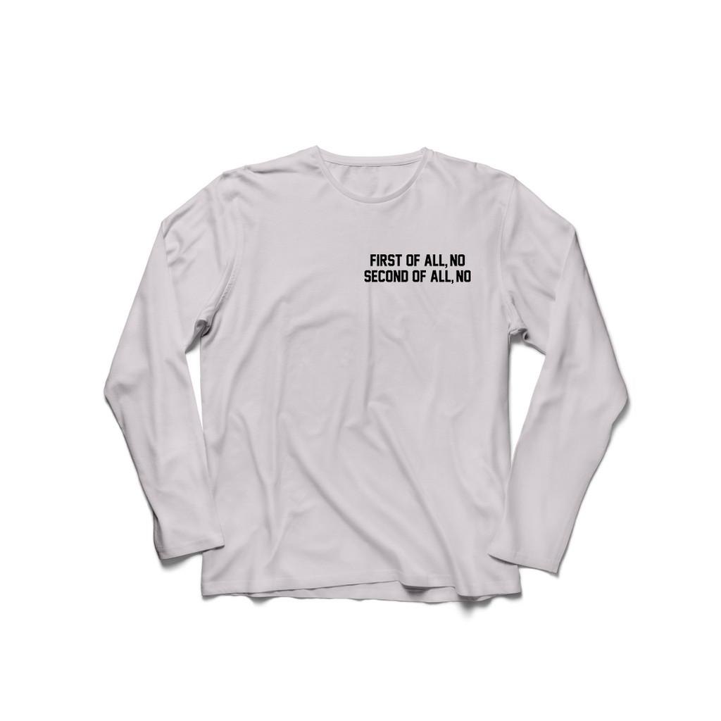 lengan+panjang+t-shirt+kaos - Temukan Harga dan Penawaran Online Terbaik - September 2018 | Shopee Indonesia