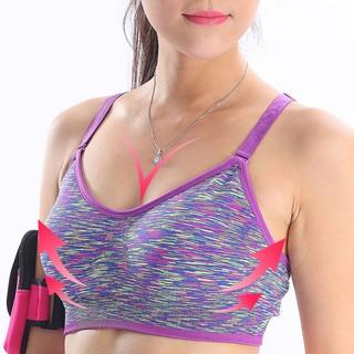 Pakaian Dalam Wanita  Atasan Bra Model Push Up Seamless Sports untuk  Olahraga a882aa9bbf
