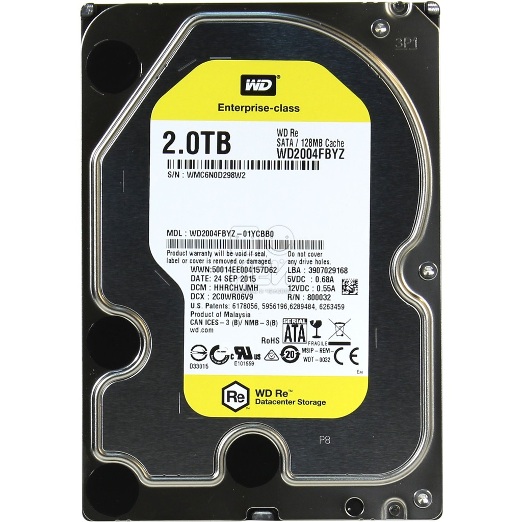 Wd Re 2tb Datacenter Hdd 35 Inch 7200 Rpm Sata 6 Gb S 64mb My Book 4tb Hd Desktop Hardisk Eksternal External Shopee Indonesia