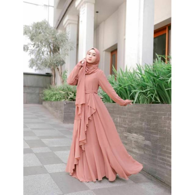 Ready Stock Ayyana Dress By Coverme Gamis Set Murah Gamis Remaja Shopee Indonesia