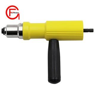 Electric Rivet Nut Gun Riveting Tool Cordless Riveting Drill Adaptor Insert  Nut Tool Riveting D