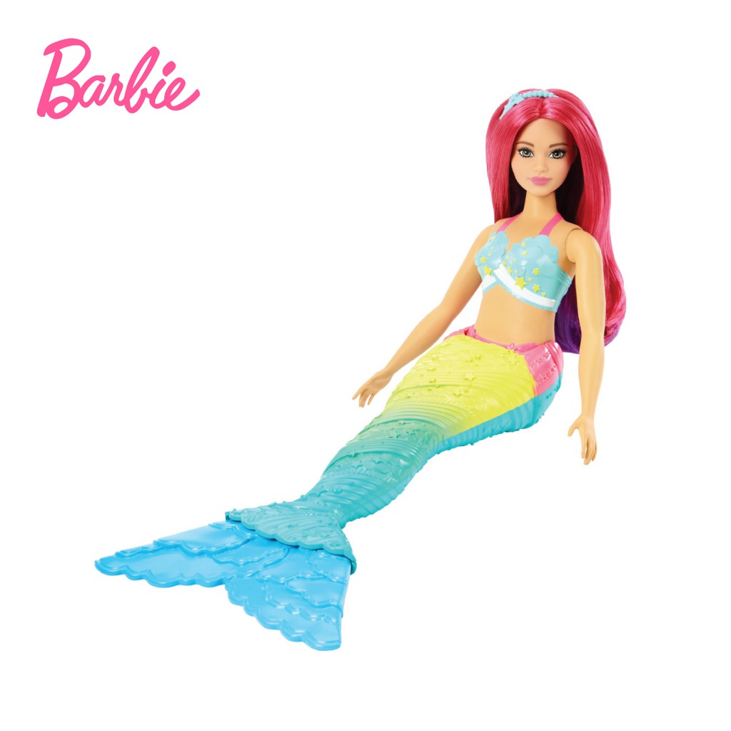 Barbie Dreamtopia Mermaid Doll - Mainan Boneka Anak Perempuan